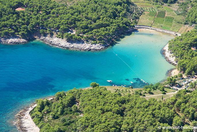 schöner strand kroatien