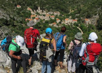 Hiking to Lost Villages of Hvar