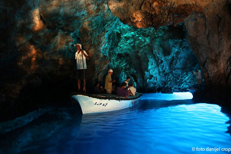 blue green caves speed boat tour from hvar town
