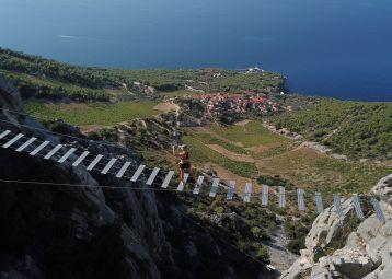 Ferrata Hvar - Adventure to top of Sveti Nikola