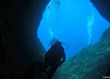Vela Garska, diving spot