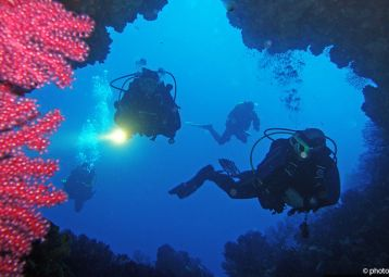 Vodnjak, Pakleni islands, diving spot