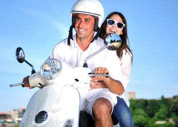Rent a scooter Hvar, explore the island