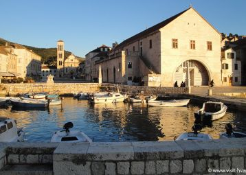 Hvar's Theatre and Arsenal