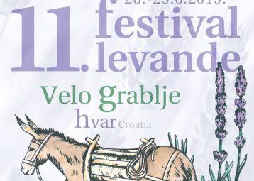 Lavender festival - Velo Grablje, Hvar