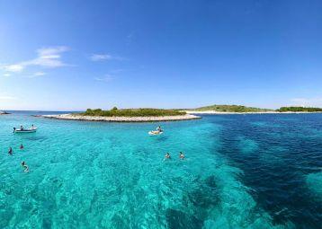 Boat excursion Pakleni islands, one day trip