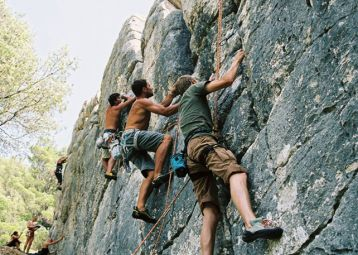 Rock climbing, daily tours