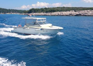 Speed taxi boat service Split airport - Hvar island