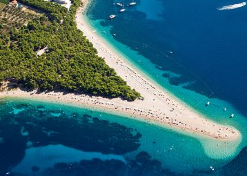 Bol and Zlatni rat beach, Excursions from Hvar